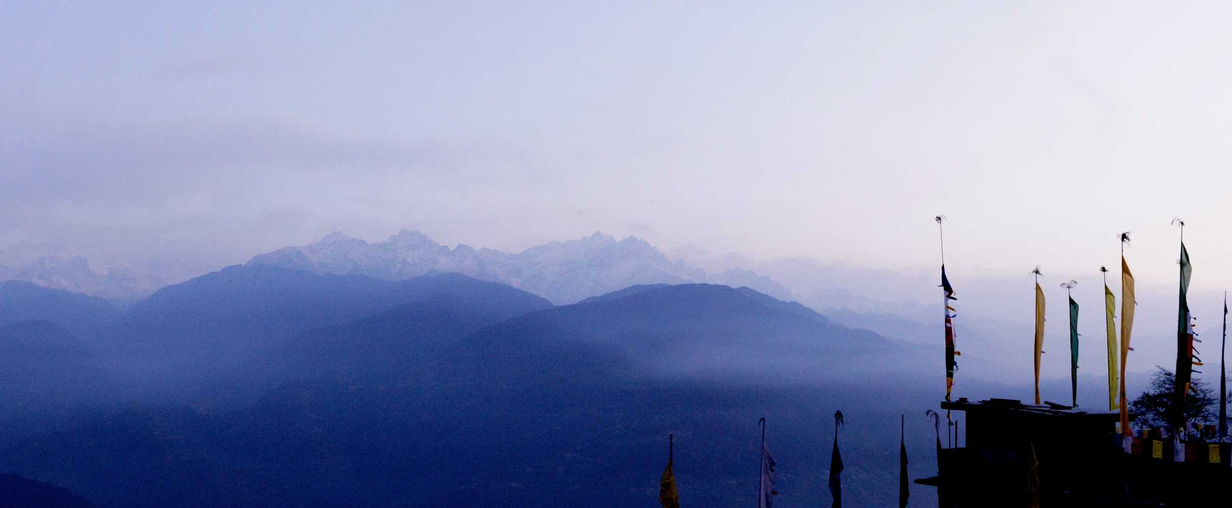 The Kanchenjunga Range as seen from Pelling
